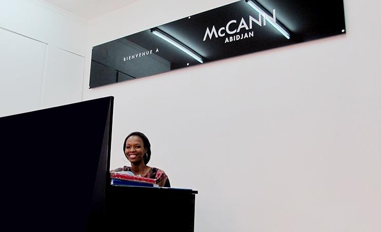 McCann Abidjan, New Look !